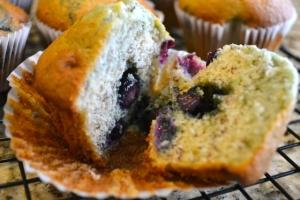 cut muffin
