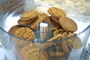 gingersnaps in cuisinart