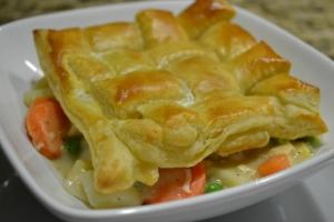 medium chick pot pie