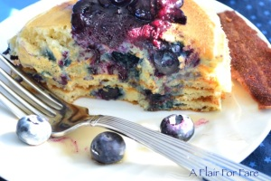 blueberry pancakes 4