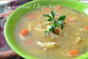 Chicken Orzo Soup 1