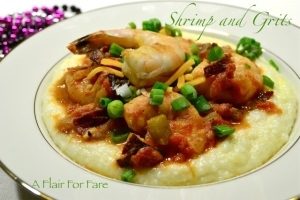 Shrimp and grits 1