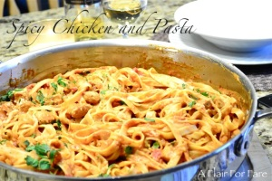 Spicy Chicken and Pasta3