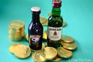 baileys with coins