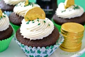close up cupcake