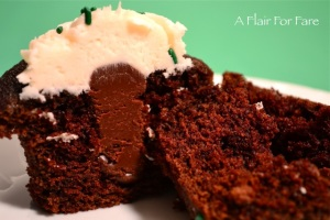 cut cupcake