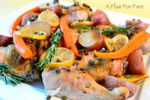 Lemon Rosemary chicken 2