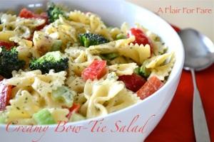 Creamy Bow-Tie Salad