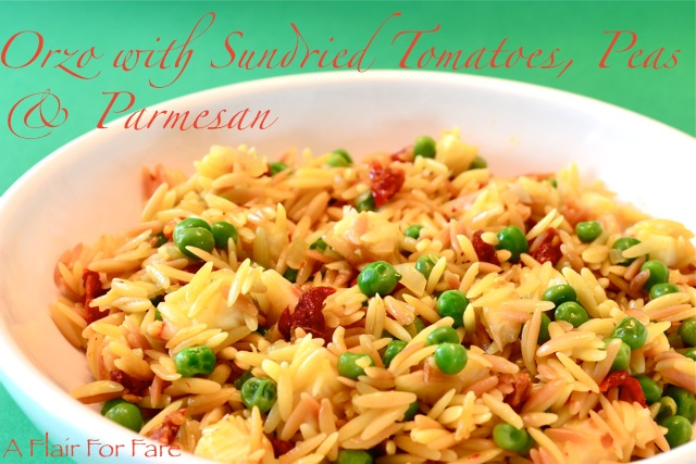 orzo with peas and orzo looks like rice orzo with peas and parmesan ...
