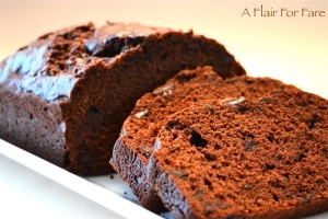 Double Chocolate Zucchini Bread 3