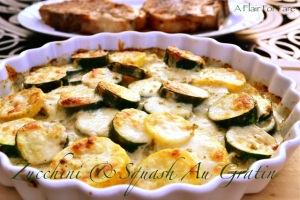 Zucchini and Squash Au Gratin 3