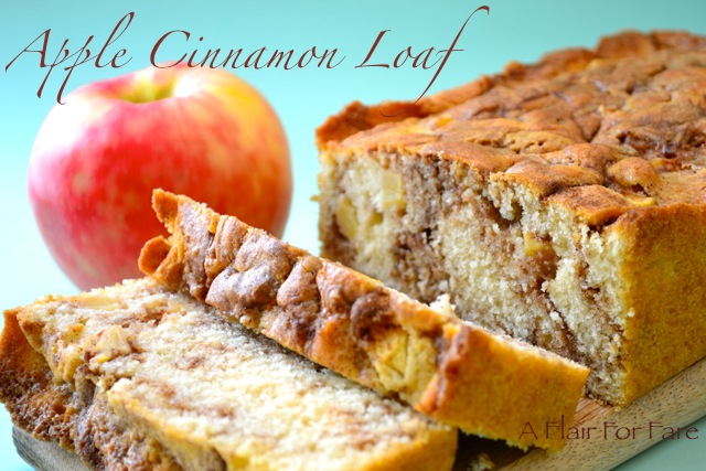 Apple Cinnamon Loaf A Flair For Fare