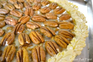 pecan pie leaves