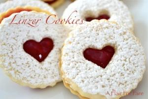 Linzer cookies 2