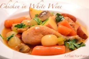 Chicken in White Wine