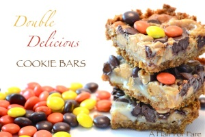 Double Delicious Cookie Bars