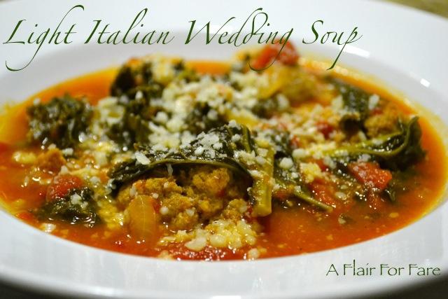 soups that light italian style wedding italian wedding soup wedding ...