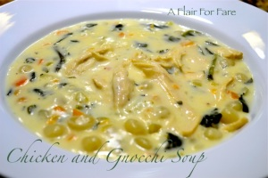 Chicken & Gnocchi Soup
