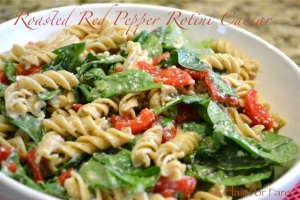 Spinach and rotini salad