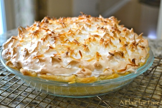 Cream of coconut pie2