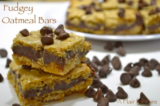 Fudgey Oatmeal Bars