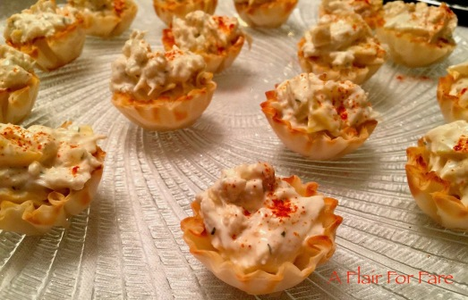 Crab and Artichoke Tartlet 2