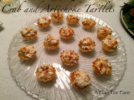 Crab and Artichoke Tartlets1