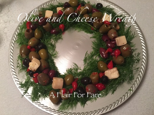 Olive-Cheese wreath